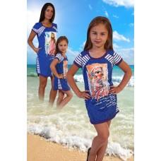 """Детская сорочка """"Пляж"""""""