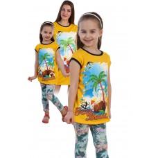 """Детская сорочка """"Пальмы"""""""