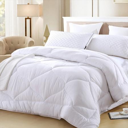 Одеяло лебяжий пух зимнее