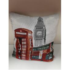 """Подушка гобелен """"Лондон"""""""