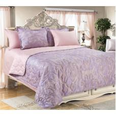 """Покрывало на кровать """"Кашмир фиолет"""""""