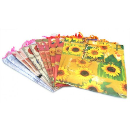 Подарочный пакет цветы